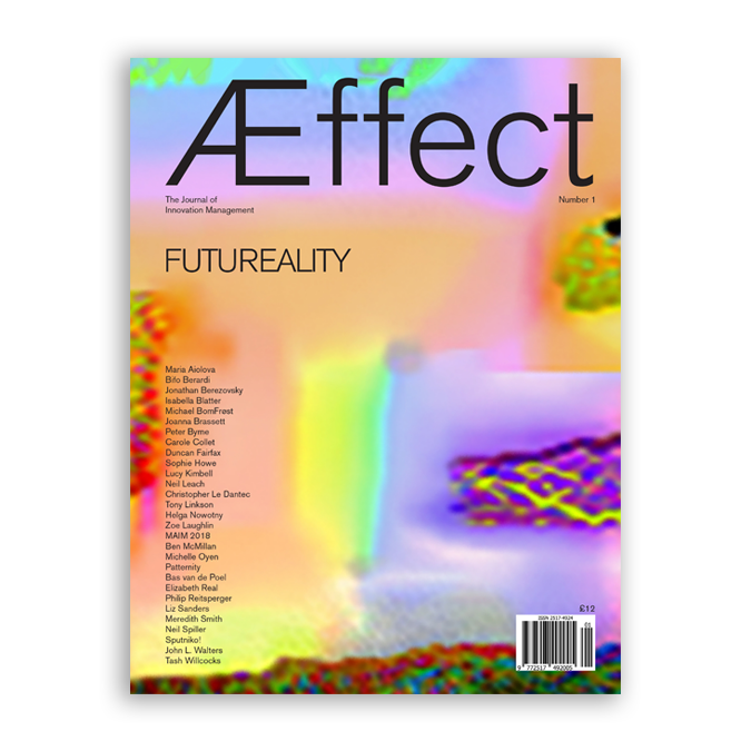 Futureality journal cover